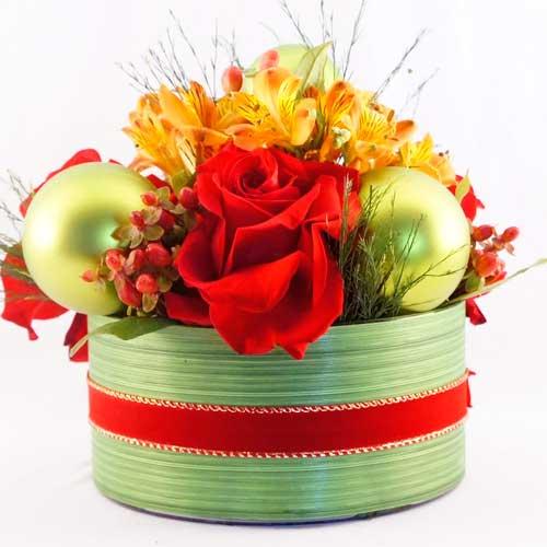 Natal com a beleza das flores